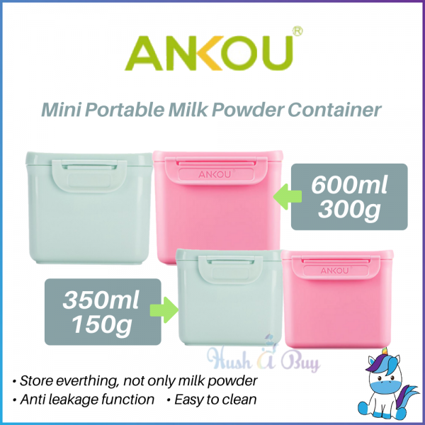 Ankou Mini Portable Milk Powder Container 350ml/150g OR 600ml/300g