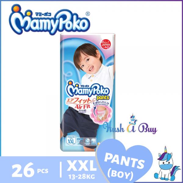 MamyPoko Airfit Pants Air Fit (BOY) XXL26 - Size XXL - 26pcs / Kids Pants XXL30 - Size XXL - 30pcs