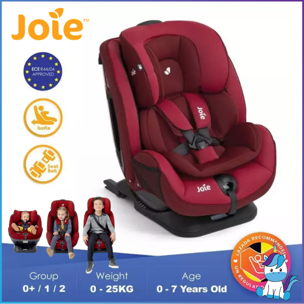 JOIE Stages FX - Convertible Child Safety Seat with ISOFIX (CRS) Car Seat from New Born to 7 yrs (0-25KG)