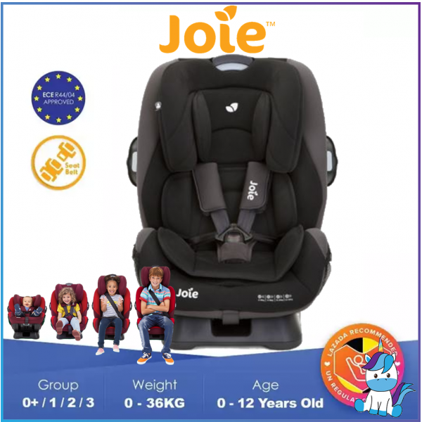 JOIE Every Stages Convertible Child Safety Seat (0-12Yrs Old) Group 0+/1/2/3 - Ember