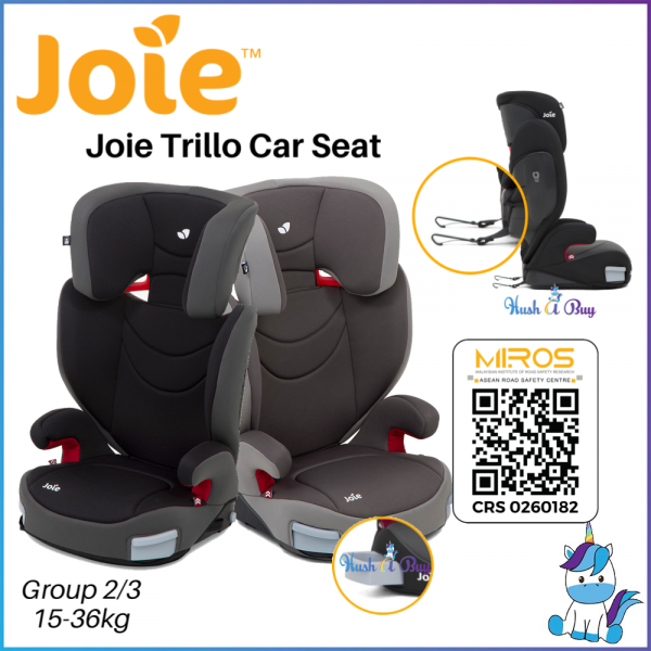 Joie Trillo Group 2/3 Booster Seat 15-36KG ( ECE R44/04)For Big Kids