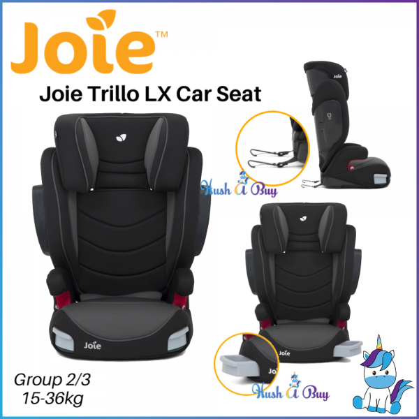 Joie Trillo LX Group 2/3 Booster Seat 15-36KG ( ECE R44/04)For Big Kids - 1 Year Warranty