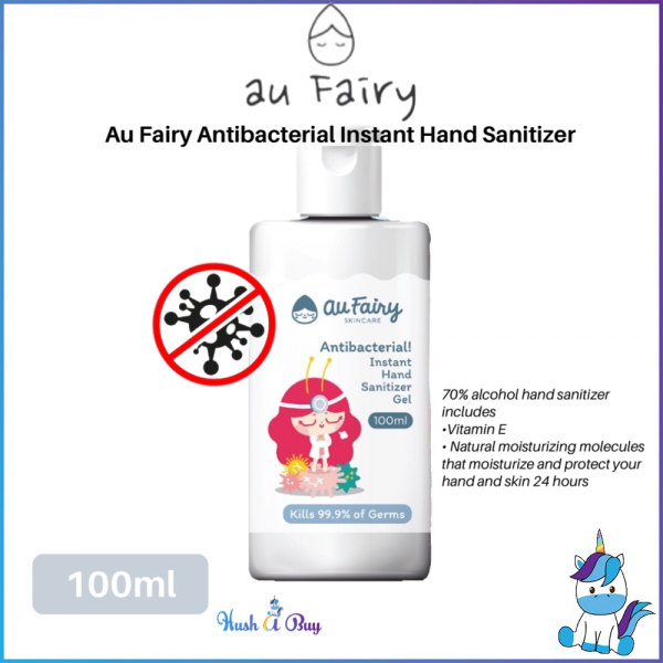 Au Fairy Antibacterial Instant Hand Sanitizer Gel 100ml with 70% Alcohol