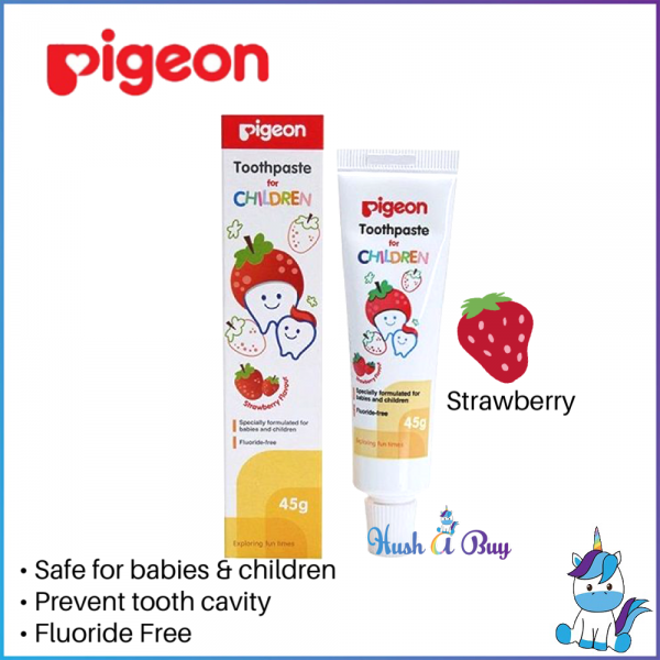 #Pigeon Toothpaste For Children 45g - Xylitol & Fluoride