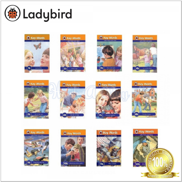 Ladybird Keywords with Peter And Jane Series B
