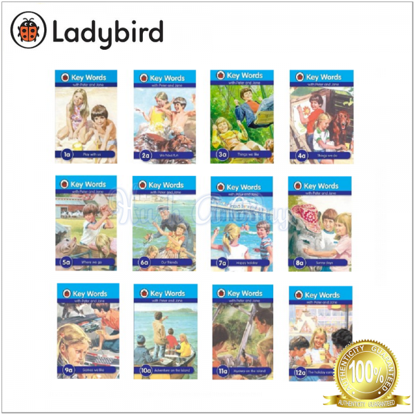 Ladybird Keywords with Peter And Jane Series A