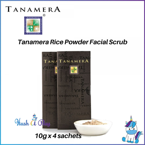 Tanamera Rice Powder Facial Scrub 10g x 4 Sachets