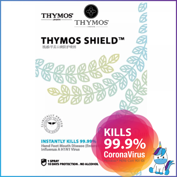 THYMOS Shield - Personal Disinfect and Sanitizer - 1 Spray Last 10 Days
