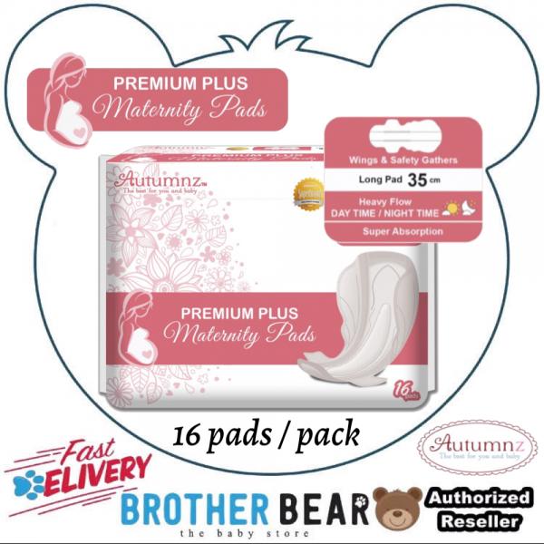 Autumnz PREMIUM PLUS Maternity Pads *35cm* (16 pads per pack) BEST BUY