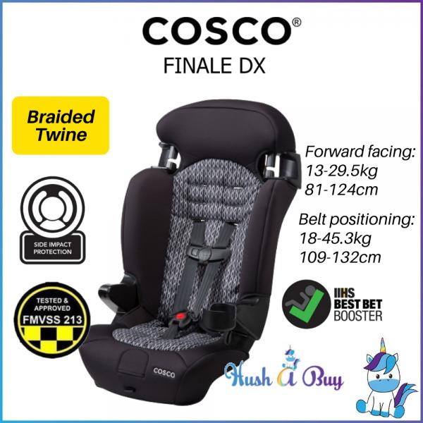 Cosco Finale DX 2-in-1 Booster Car Seat - 1 Year Warranty (13-45kg / 81-132cm)