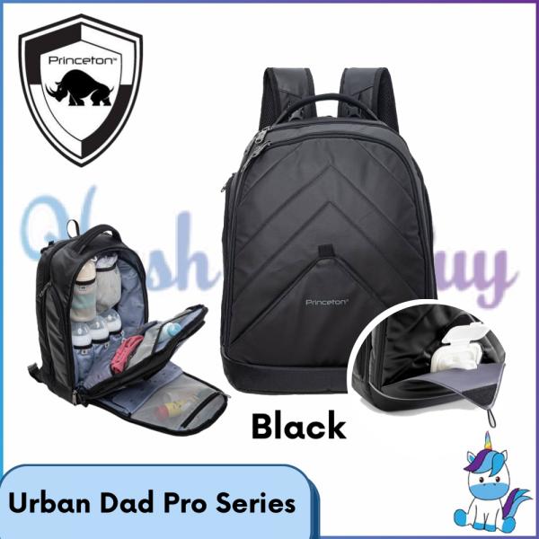 Princeton Bag Urban Dad Pro Series - Black - Lifetime Warranty
