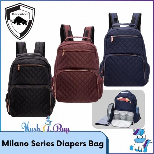 Princeton Milano Series Diapers Bag for Mom - Lifetime Warranty
