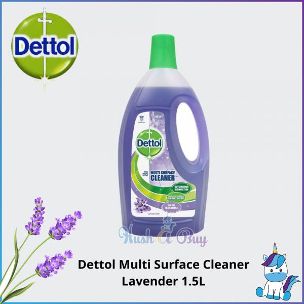 Dettol Multi Surface Cleaner 1.5L - Lavender