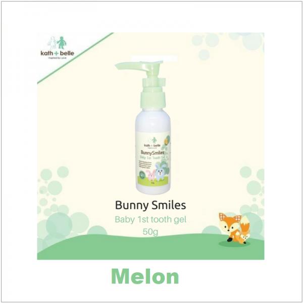 Kath + Belle Bunny Smiles Kids Tooth Gel