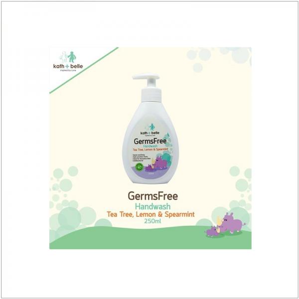 Kath + Belle GermsFree Handwash (Tea Tree, Lemon & Spearmint)