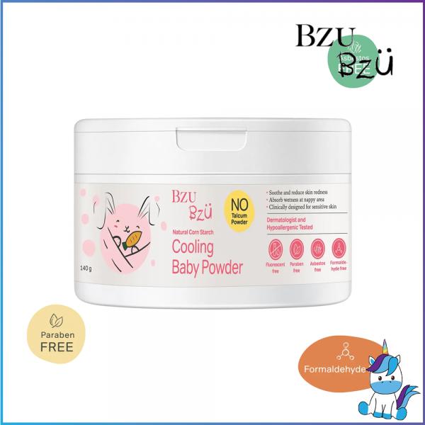BZU BZU Cooling Baby Powder 140g - Product of Singapore Made in Malaysia
