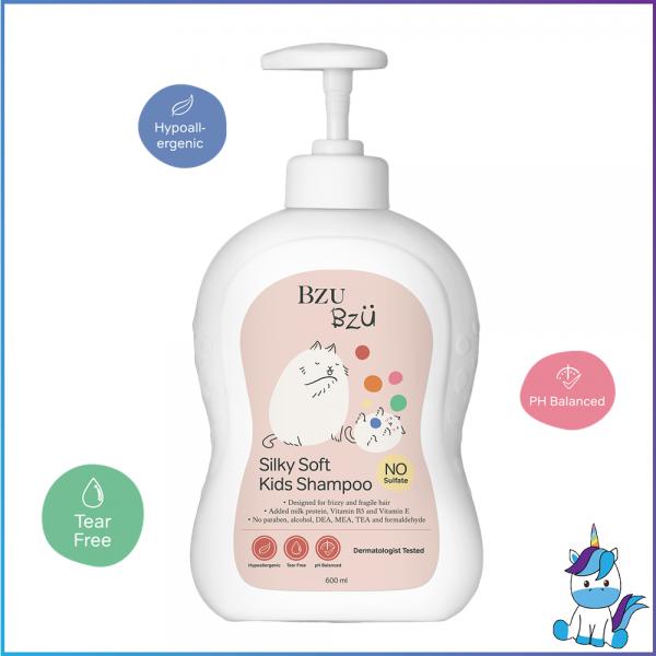 BZU BZU Silky Soft Kids Shampoo 200ml - Product of Singapore Made in Malaysia