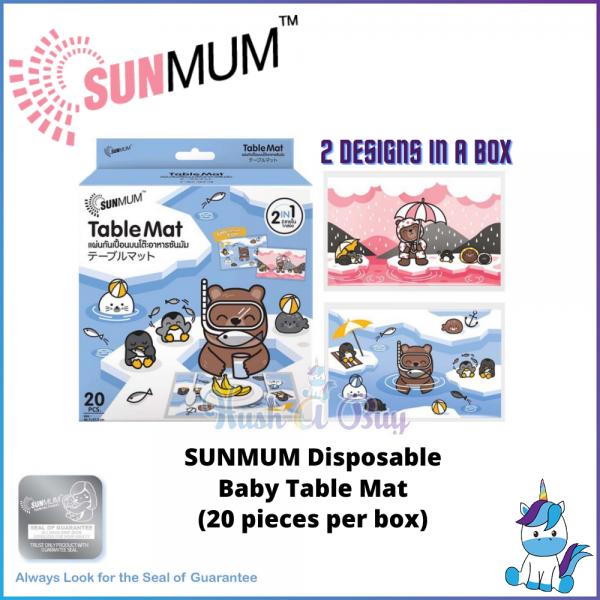 SUNMUM Disposable Baby Table Mat (20 pieces/box)