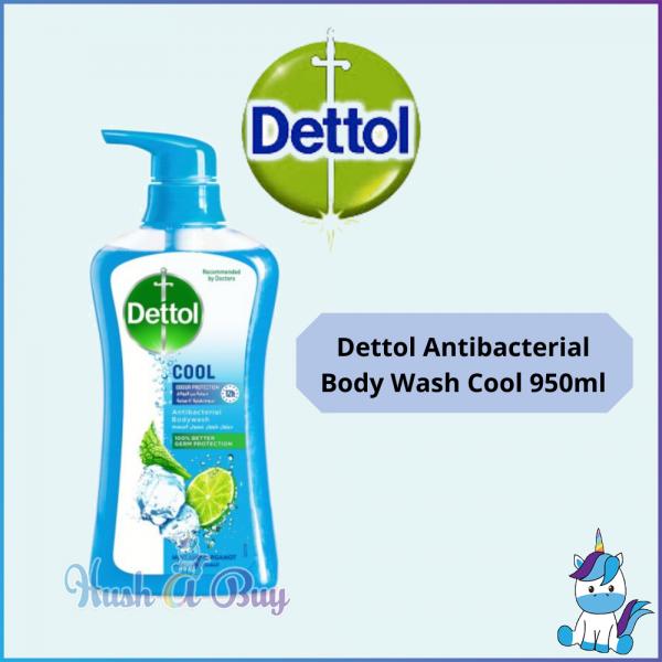 Dettol Antibacterial Body Wash (Cool) 250g /950g