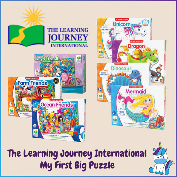 The Learning Journey International MY FIRT BIG FLOOR PUZZLE  (2+ Years Old)