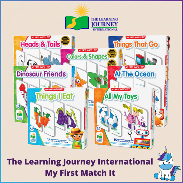 The Learning Journey International MY FIRST MATCH IT Puzzle (2+ Years Old)