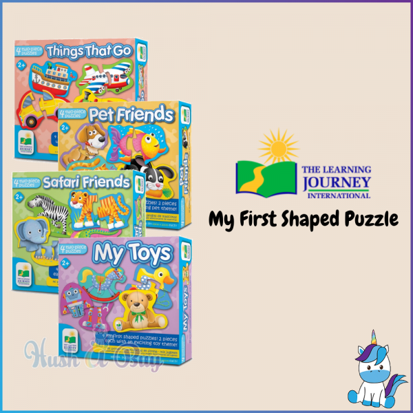 The Learning Journey International MY FIRST PUZZLES  (2+ Years Old)