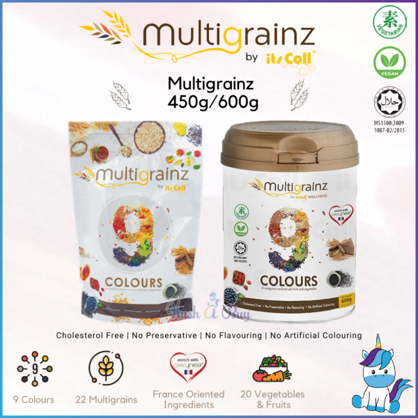 Its Coll Multigrainz 450g / 600g - Healthy Drink with Complete Nutrition 完美谷粮 - 健康代餐