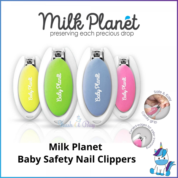 Milk Planet Baby Planet Baby's Safety Nail Clippers - Baby Care and Hygiene