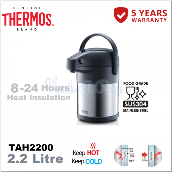 Thermos Unbreakable Lifestyle Pump Pot 2.2L