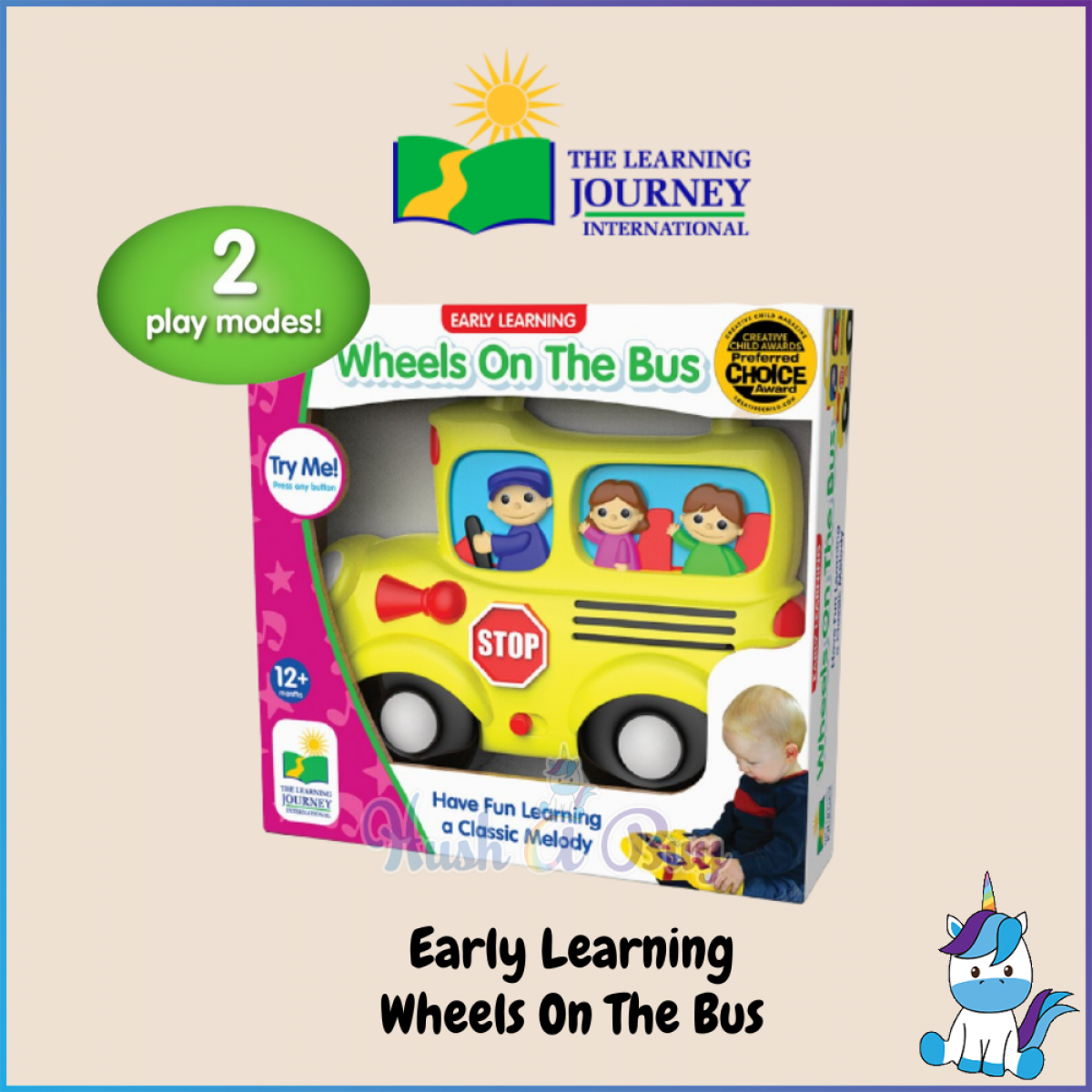 The Learning Journey International Electronic Play  (12+Months)