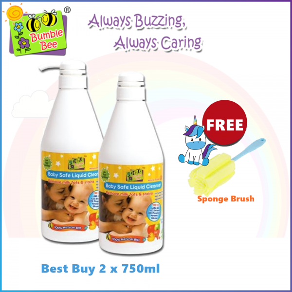 Bumble Bee Baby Safe Liquid Cleanser Twin Pack (Best Buy)