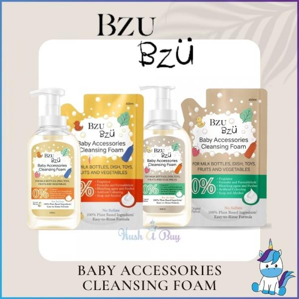 BZU BZU Baby Accessories Cleansing Foam (Lemon/Original) - 400ml (Refill)/500ml(Bottle)