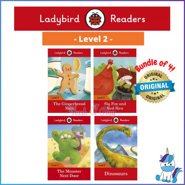 Ladybird Readers Level 2 - Level 4