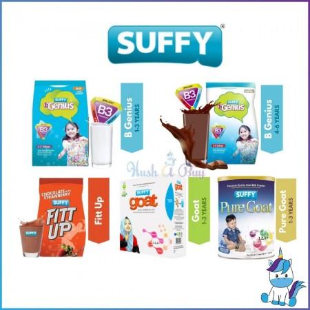 【HALAL】Suffy Pure Goat Milk / B Genius Original/Chocolate