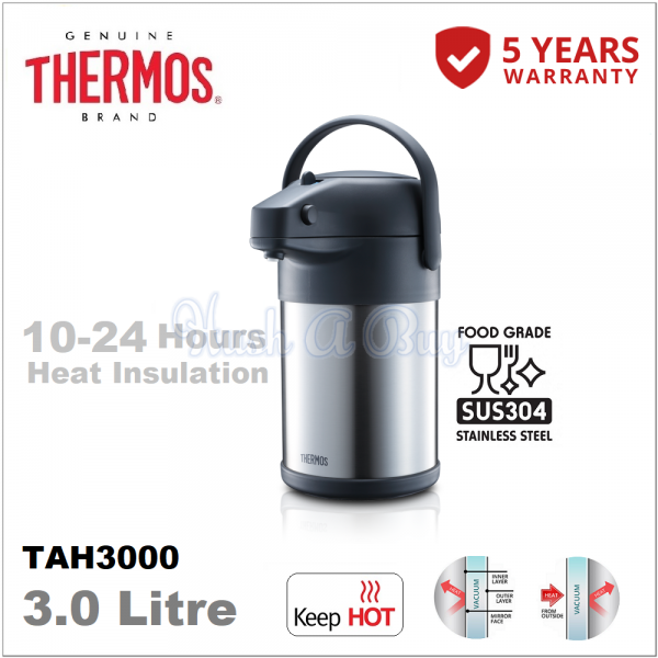 Thermos Unbreakable Lifestyle Pump Pot 3.0L