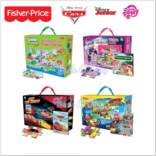 Giant Floor Puzzles from Fisher-Price, Little Pony and Disney Pixar and Disney Junior