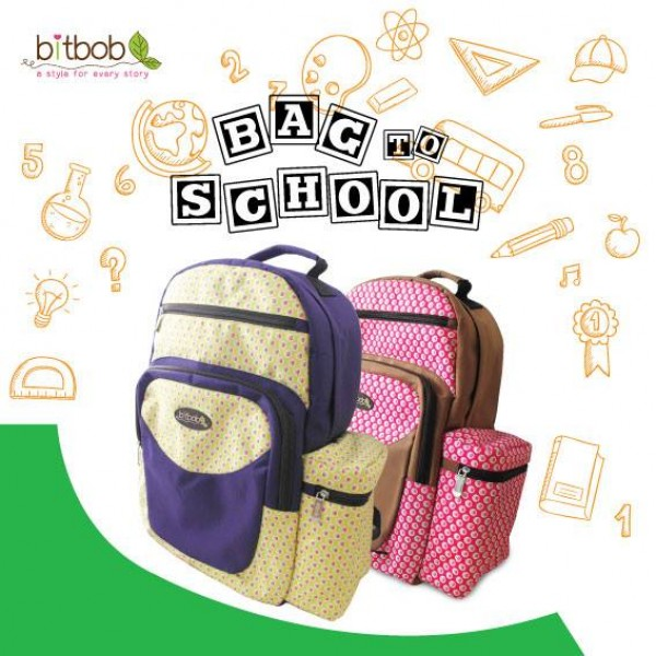 Bitbob Diaper Backpack FOC Changing Mat