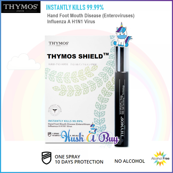 THYMOS Shield - Anti-HFMD/FLU Spray 10ml (Expiry: 10/2021)