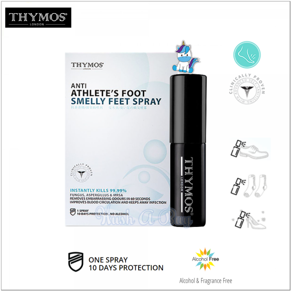 Thymos Anti Athlete's Foot Smelly Feed Spray (Expiry: 01/2021)