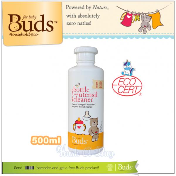 Buds BHE Baby Safe Bottle & Utensil Cleaner 500ml