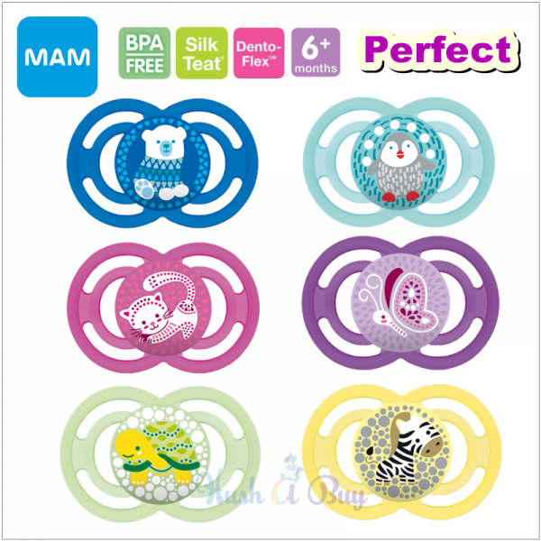 MAM Perfect Baby Silicone Pacifier (6+ Months) - Single