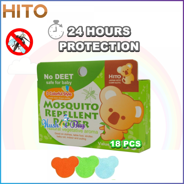 Hito Natural Botanical Mosquito Patch