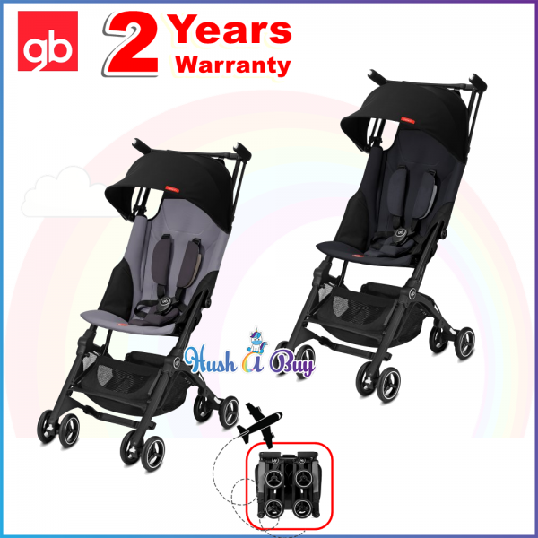 GB Gold Pockit+ Plus - The Smallest Stroller In The World 2018