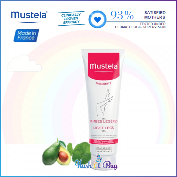 Mustela Light Moisturizing Legs Gel For Mum/Women125ml (Expiry: 05/2020)