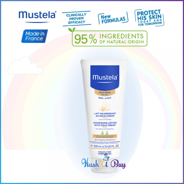 Mustela Nourishing Lotion with Cold Cream For Babies 200ml (Expiry: 07/2020)