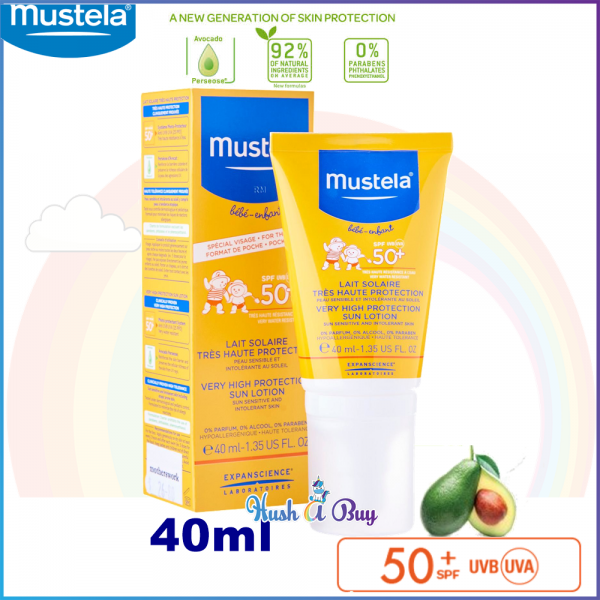Mustela Bebe Enfant Very High Protection Face Sun Lotion for Baby SPF 50