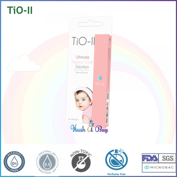 TiO-II Googoo Nappy Care / Nappy Rash Prevention Spray - The Ultimate Nappy Care Solution