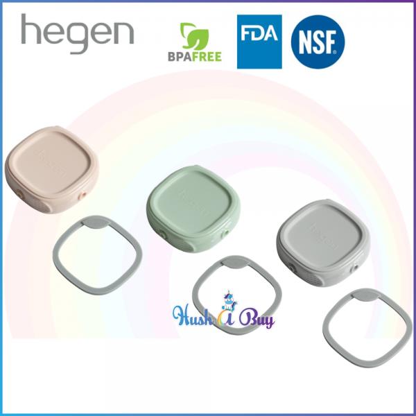 Hegen PCTO Breast Milk Storage Lid Single - Pink/ Grey/ Green
