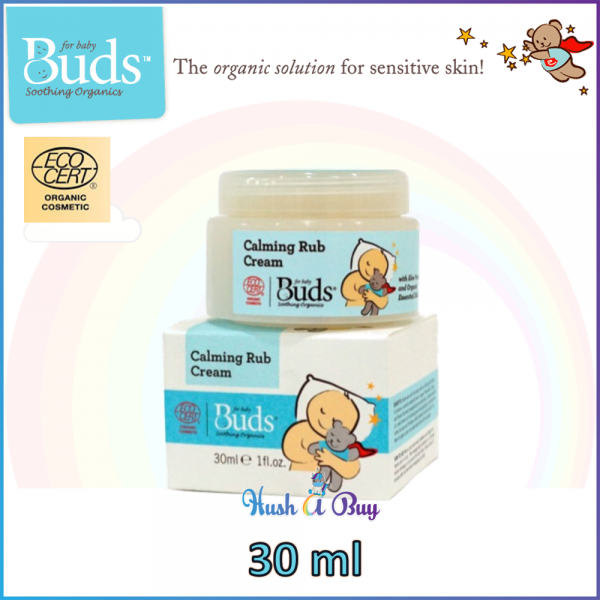 Buds BSO ORGNIC SOOTHING Calming Rub Cream 30ml