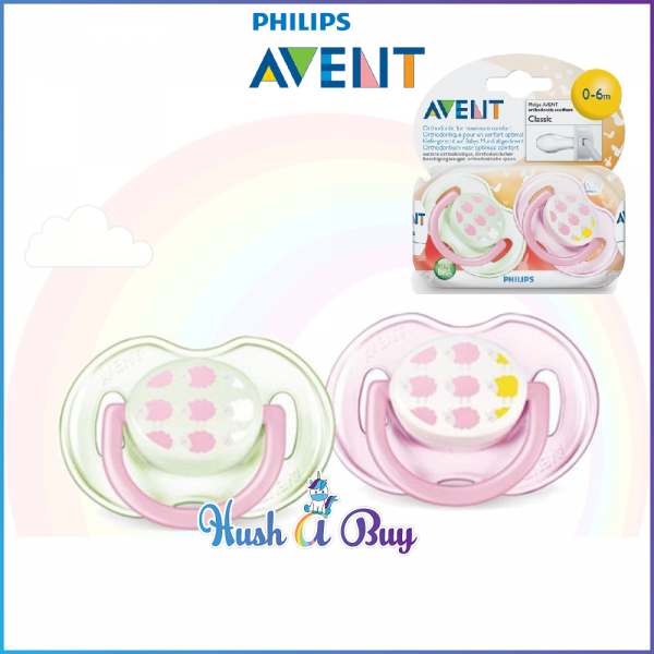 Philips Avent Orthodontic Soohters with Cap Classic 0-6M